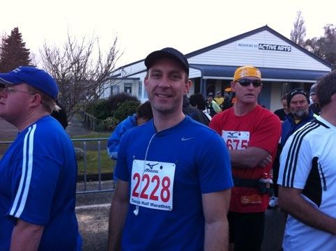 Taupo Half Marathon 2011